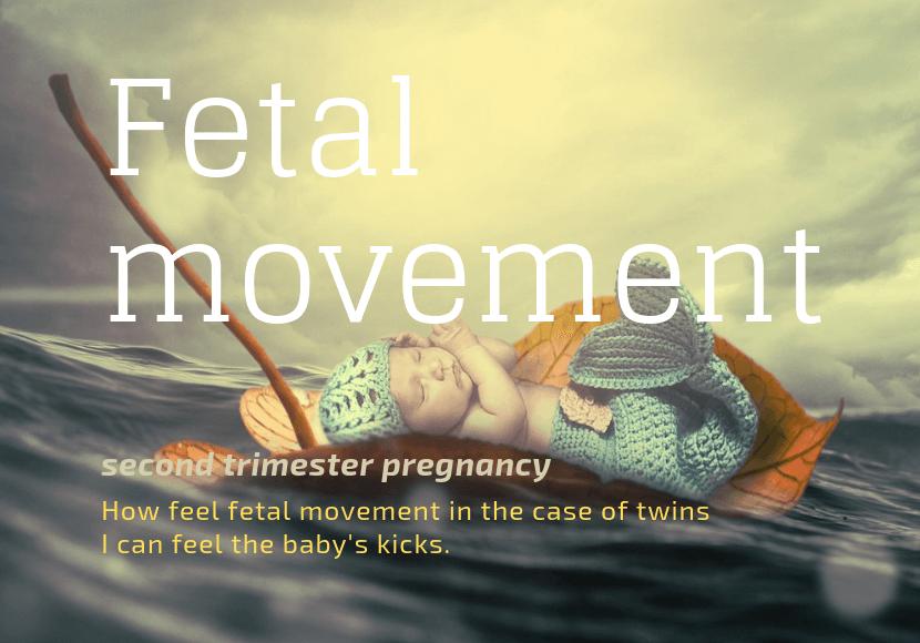 双子の胎動の様子は?妊娠中期の胎動の感じ方|管理入院17日め