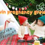 双子妊娠のお腹の大きさを写真で振り返る!妊娠月ごとの胎児体重の推移