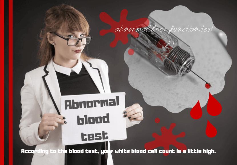 血液検査の注射の写真です。